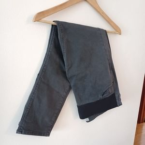 TopShop Jamie Jeans Moto Maternity in Gray